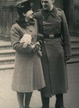 Photo de Anne-Marie et Heinrich Böll
